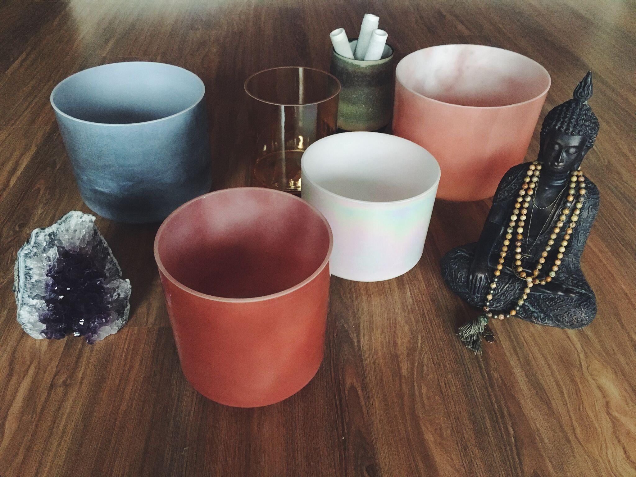 crystal tones singing bowl