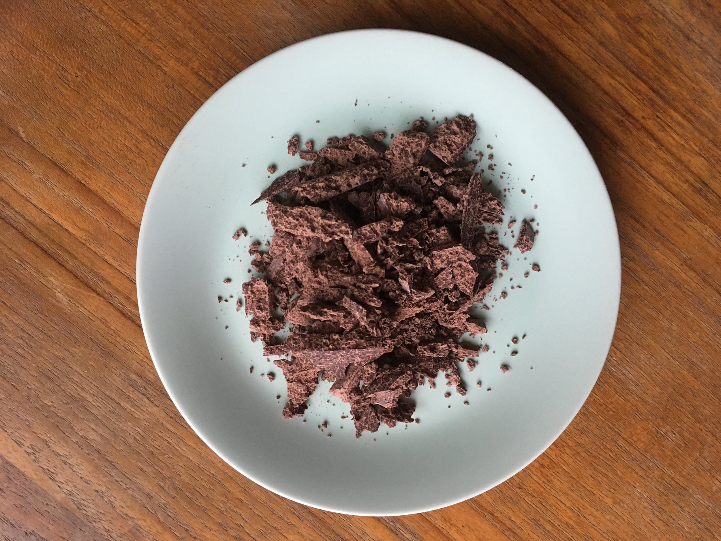 Freshly Chopped Raw Ceremonial Cacao