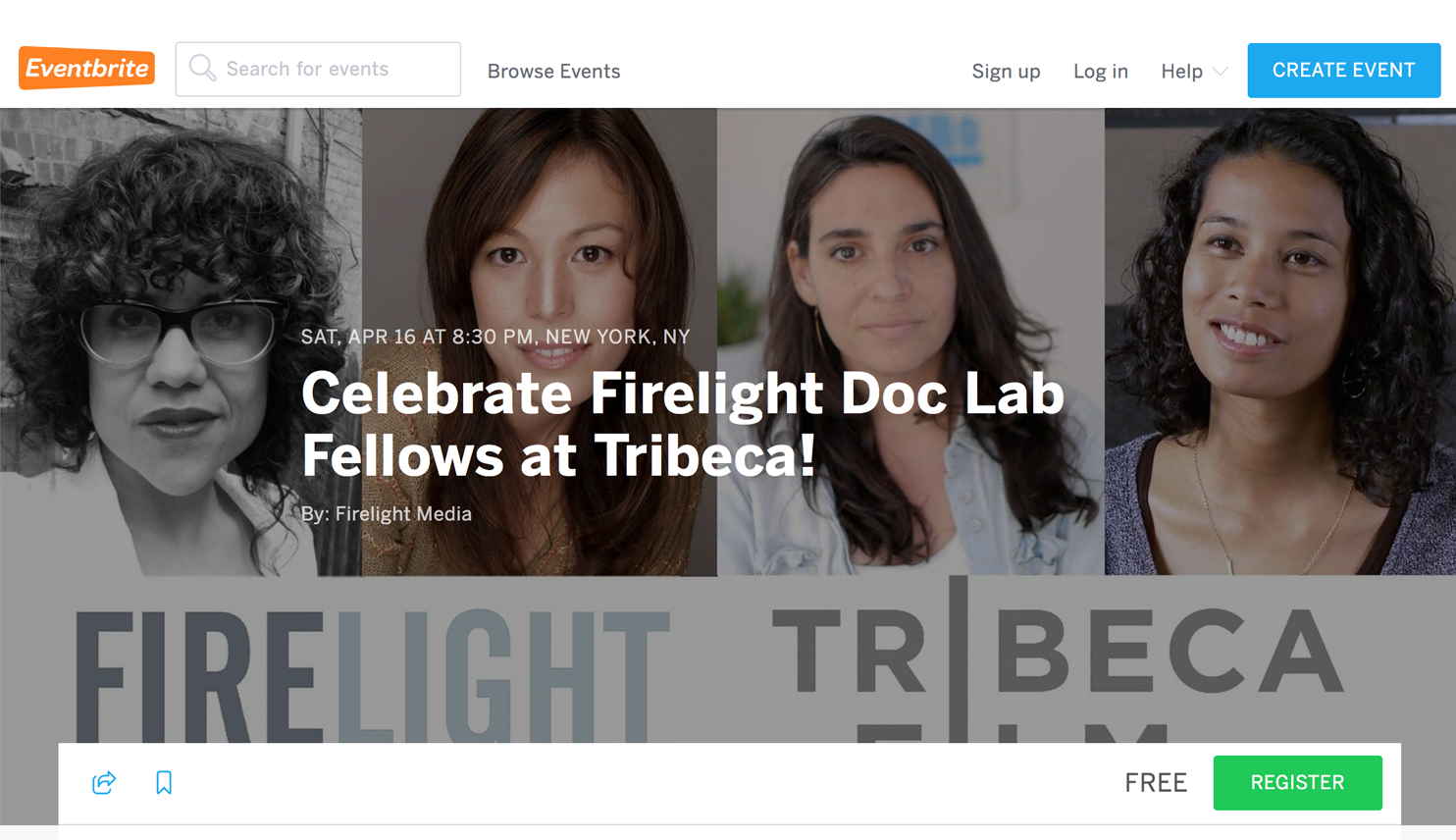 Celebrate Firelight Doc Lab Fellows at Tribeca!