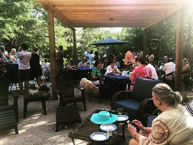 The Garden Party was great fun! Thank you to everyone who came, and to our amazing hostess La Vonne Maloney! #slcodems