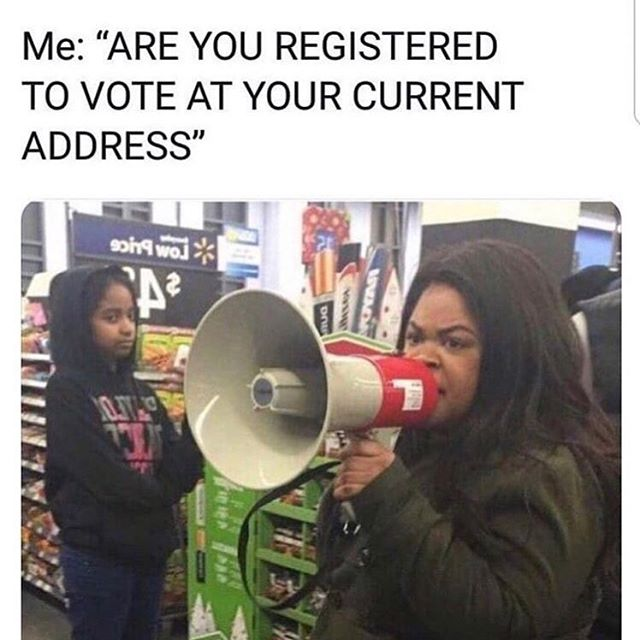 Ya'll registered? #vote #register #slcodems #utdems