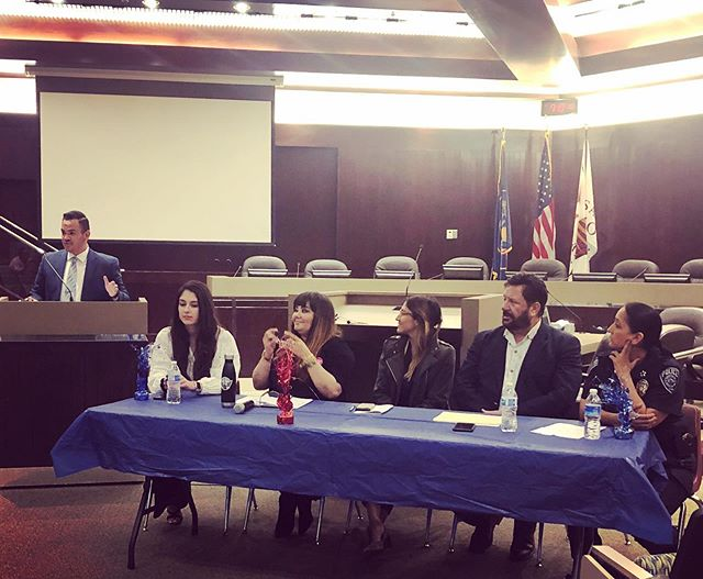 The Latino/Hispanic Town Hall has begun! Thank you to our panelists for joining us this evening!