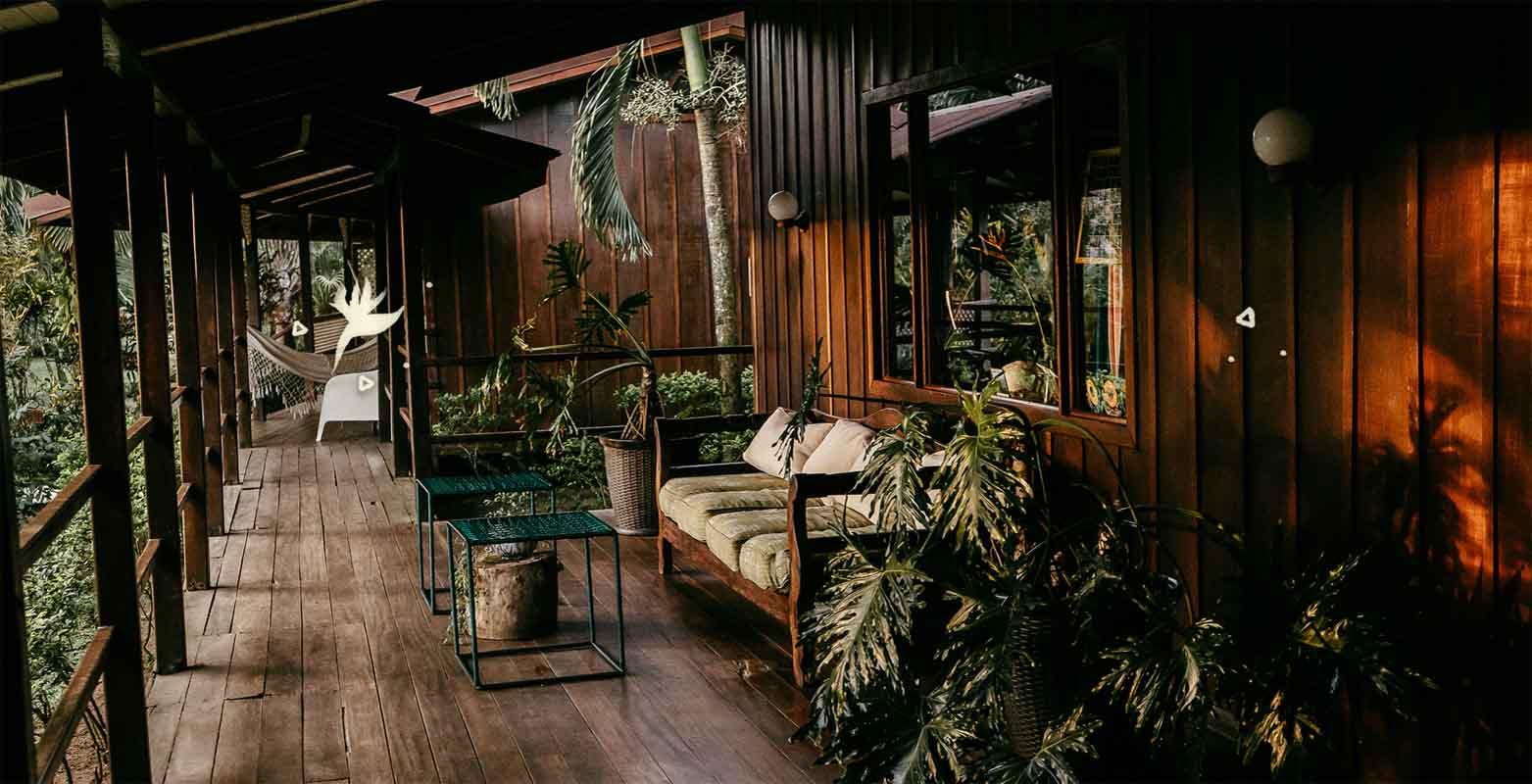 Mawamba Lodge   Un Lodge tropical en el medio del bosque lluvioso    Tortuguero, Costa Rica