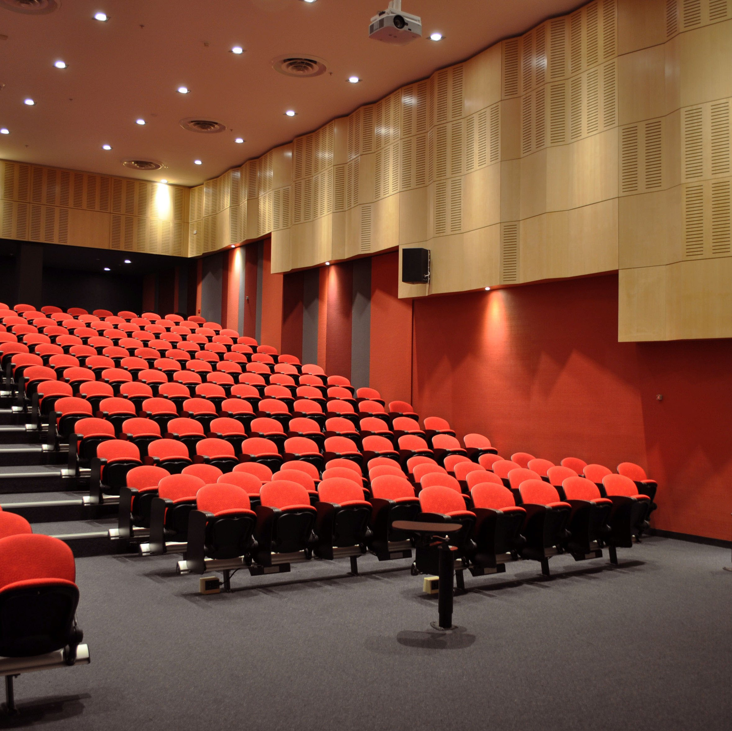 UniSA CWE | BH2-09 Lecture Theatre Refurbishment   Services: BESTEC Contractor: Harrold & Kite Photographer: W+S