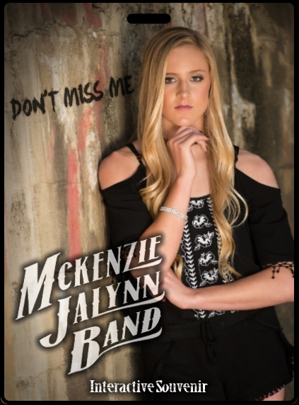 McKenzie JaLynn Band set to hit the Jim Beam Stage Friday July 27th!