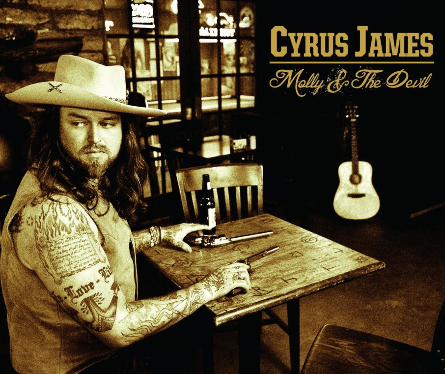 Cyrus James and the gang set to hit the Jim Beam Stage April 7th @ 8:00 PM