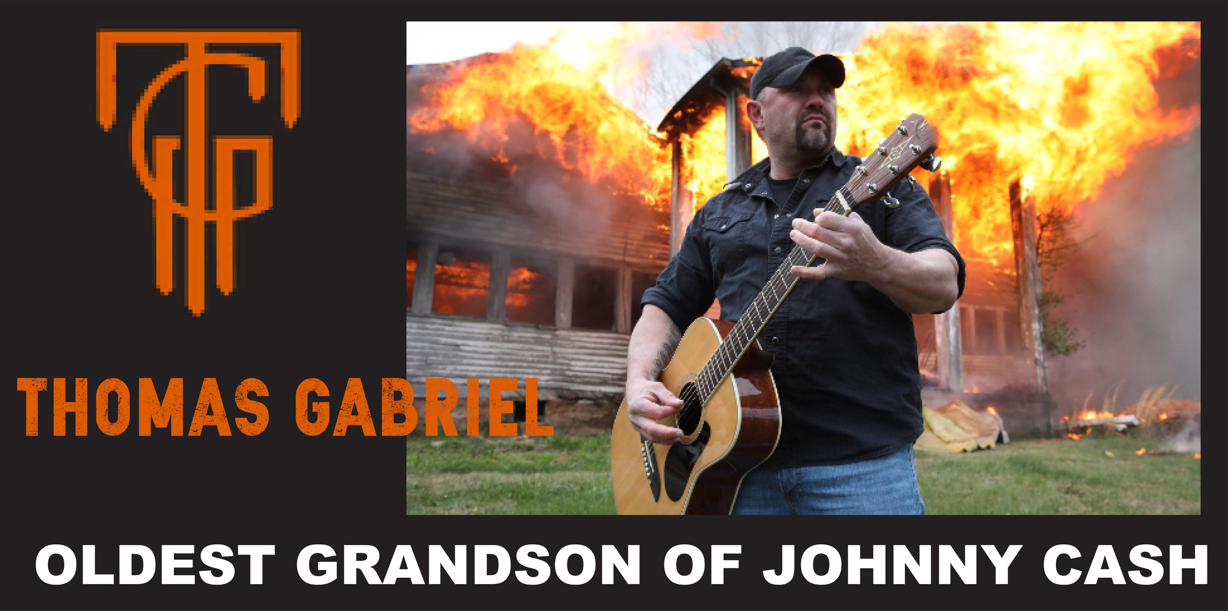 The oldest Grandson of the legendary Jonny Cash will be bringing his sound to the Warehouse stage!   Tickets go on sale for this can't miss show 3/20
