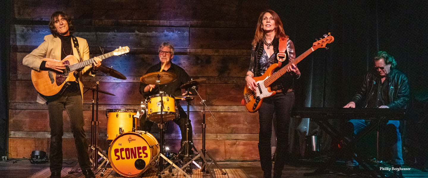 The Scones set to light up the Warehouse stage for the first time for a FREE SHOW on July 13 for some good ol fashion rockin and rollin americana!