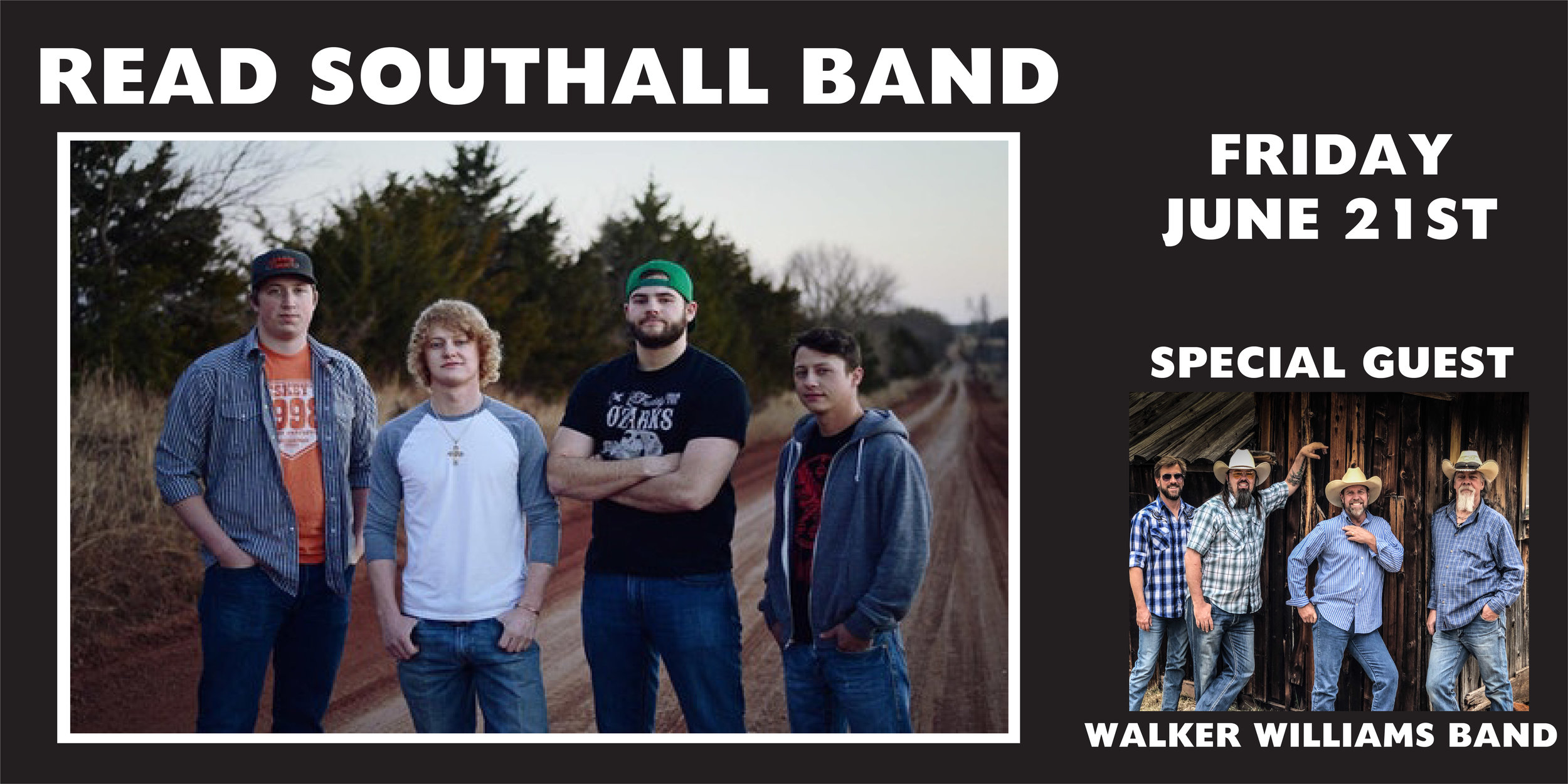 GJ are you ready for some good ol fashion Country Rock? The Read Southall Band will light up the RMEF big stage Friday June 21st! Come get yourself some Rockin RedDirt Country music in your life. Tickets on sale NOW