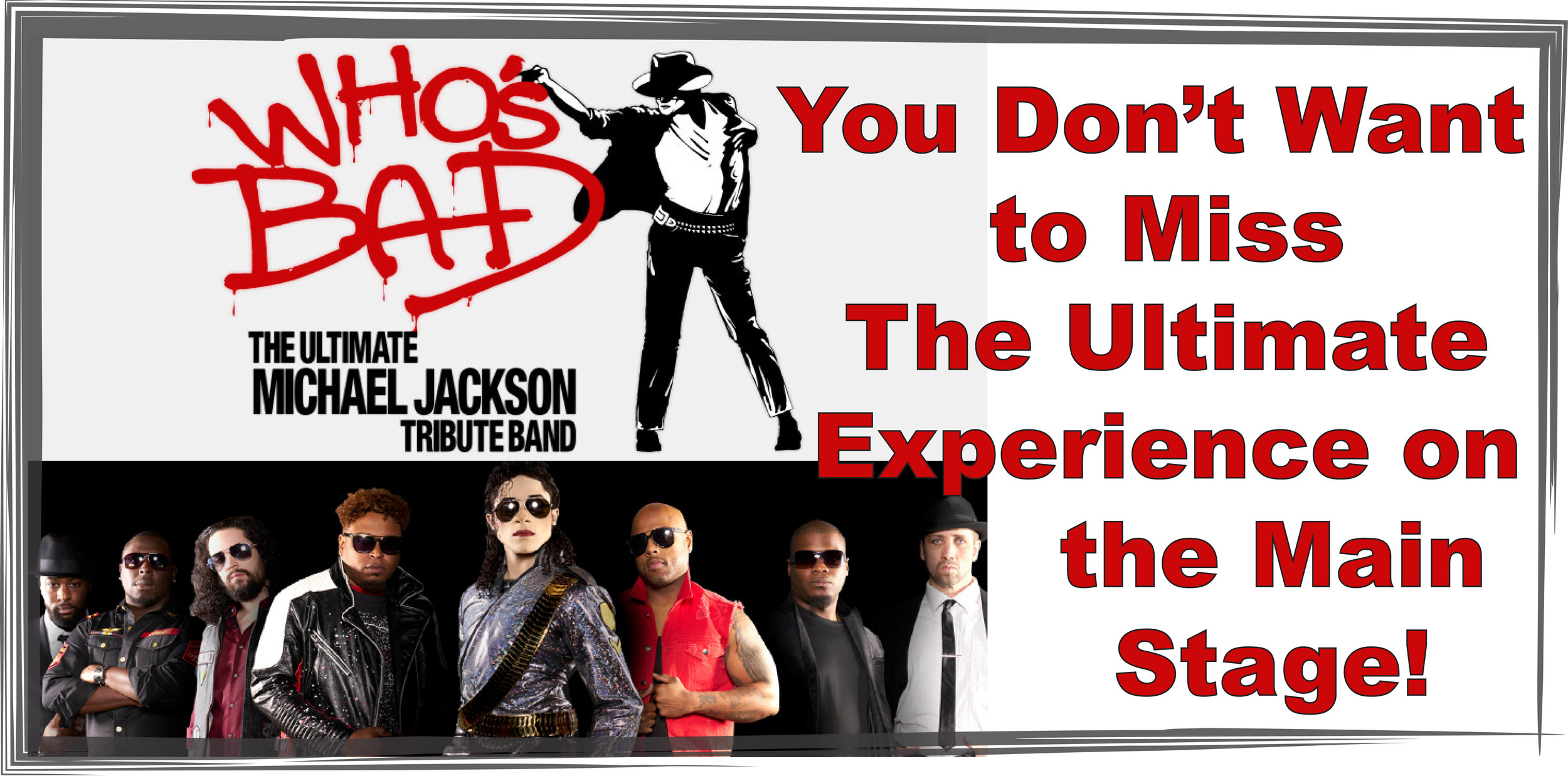 An Ultimate Michael Jackson Experience hits the Warehouse stage for a fun night of Live Music! Don't miss a chance to hear all the Michael Jackson hits and moves! Tickets on sale soon!