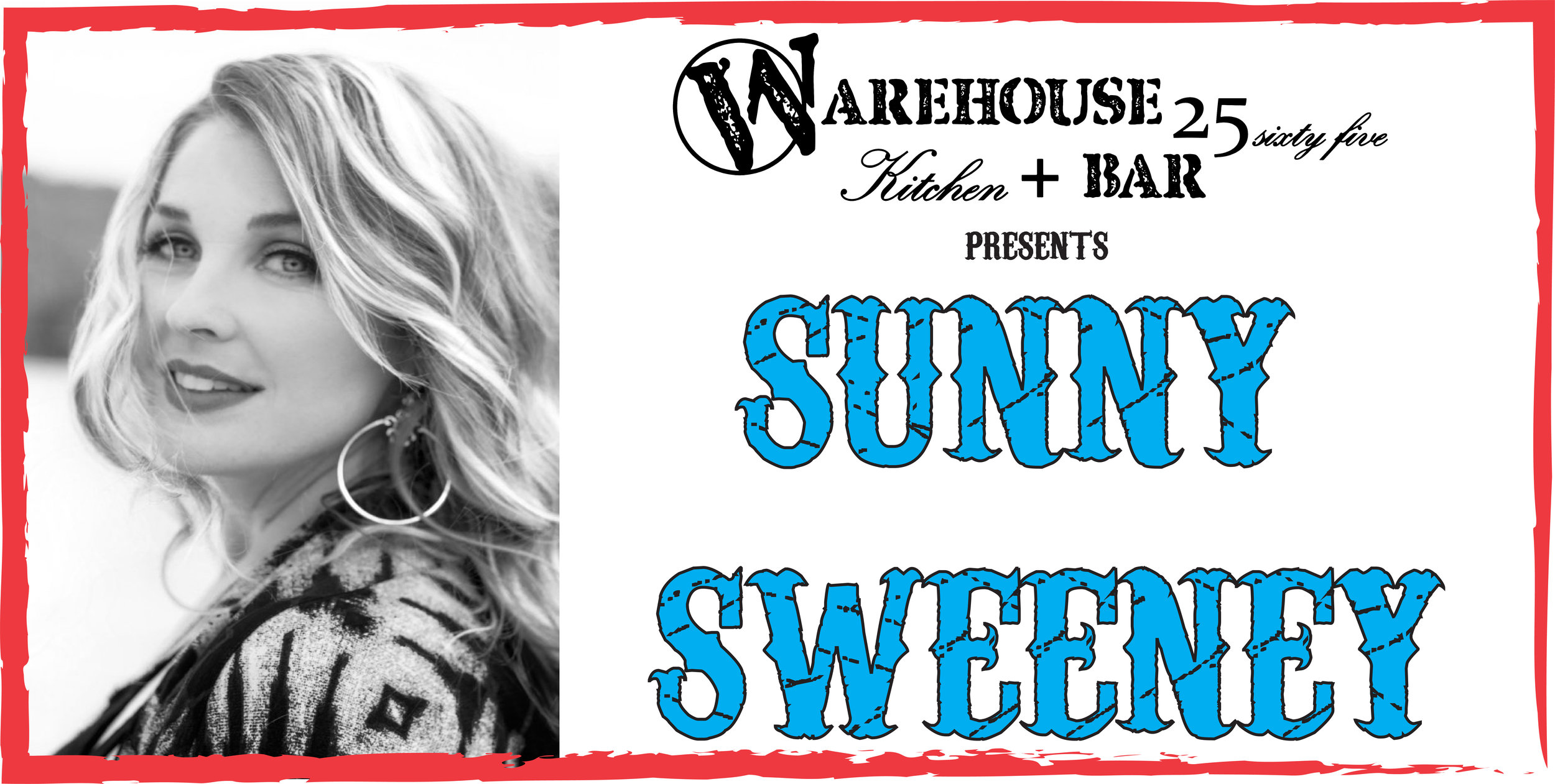 Sunny Sweeney set to light up the RMEF Big Stage at the Warehouse Friday August 2nd! Tickets only $20 seating is first come first serve ALL AGES SHOW so come early and stay late for this Star on the Rise!