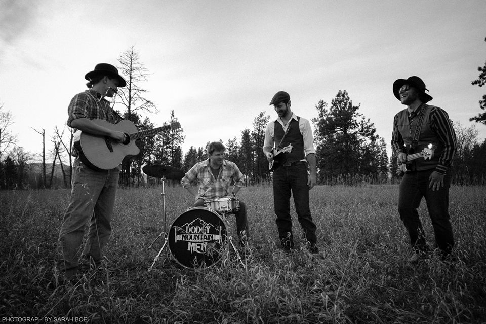 Dodgy Mountain Men set to get those feet stompin and hands clappin Thursday July 18 for a FREE SHOW at the Warehouse!