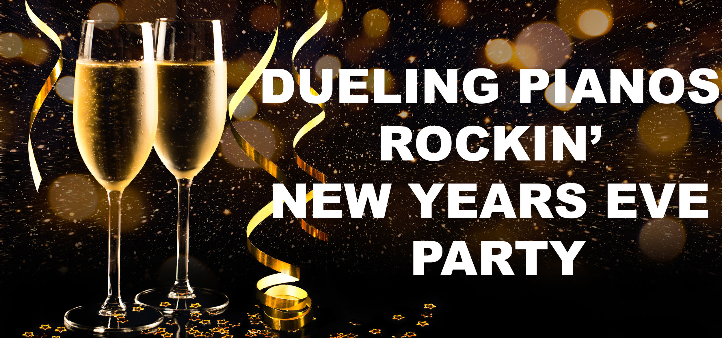 THE PARTY OF THE YEAR IS HERE AGAIN… The Dueling Pianos Rockin New Years Eve Party at the Warehouse TICKETS AND TABLES GO ON SALE 11/1 Get em while they last….
