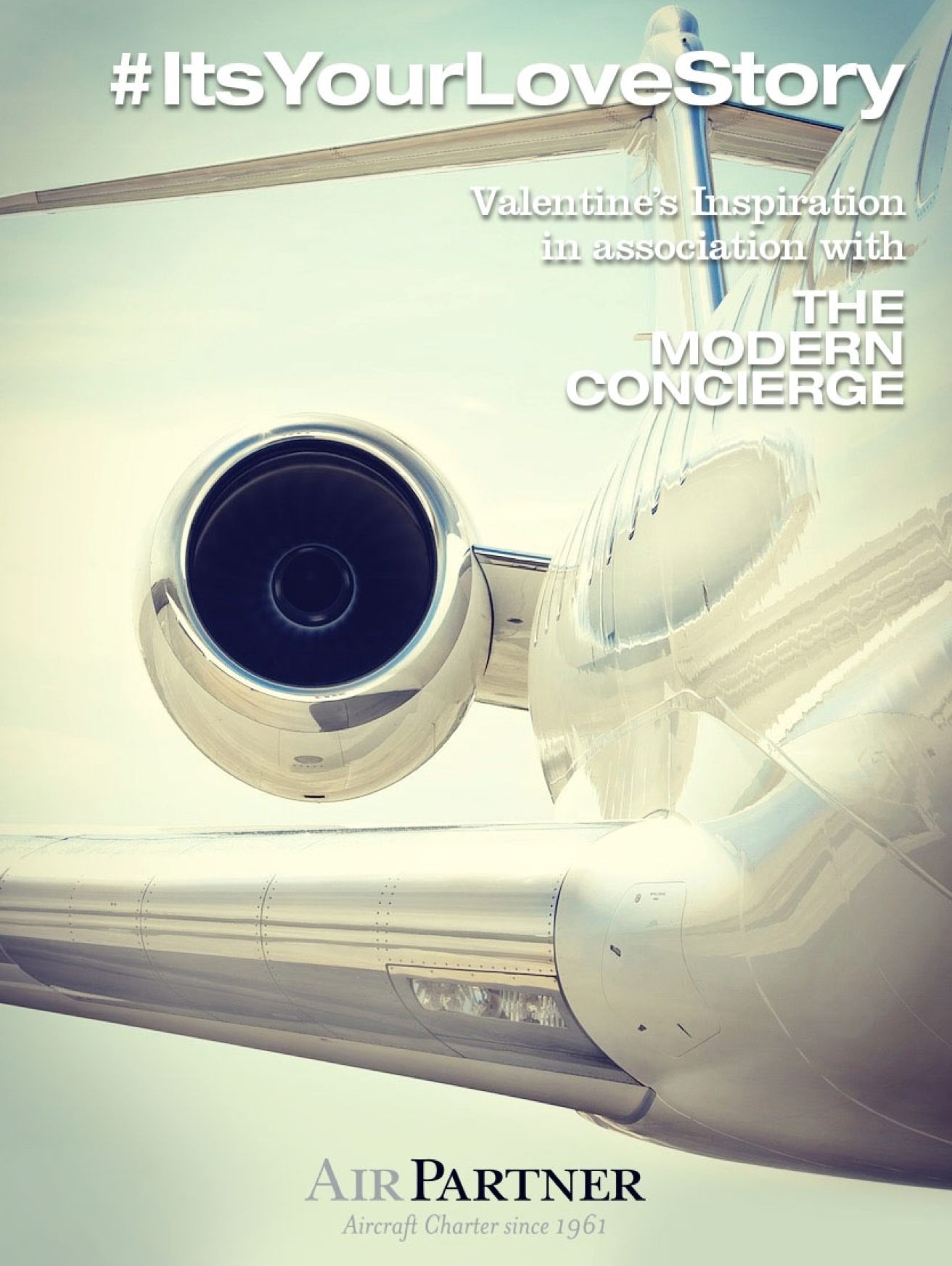 Click here to see the #ItsYourLoveStory private jet adventure collections