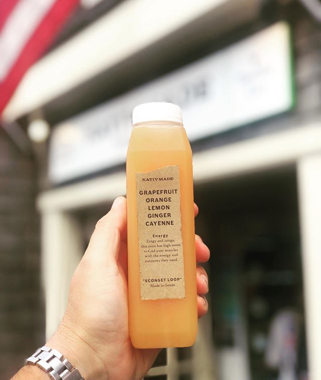 We have the best organic live cold pressed juice around. Come and fuel up with the right stuff at #NATIVmade #reinventingfastfood #alwaysfast #alwaysfresh #alwaysorganic #nantucket