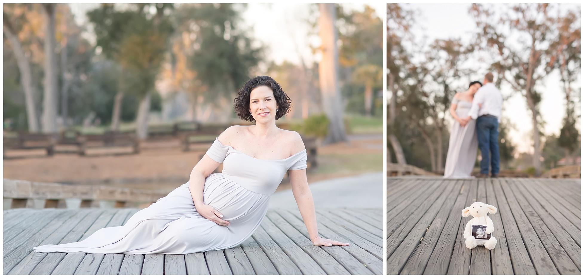 Oak Grove Island maternity session