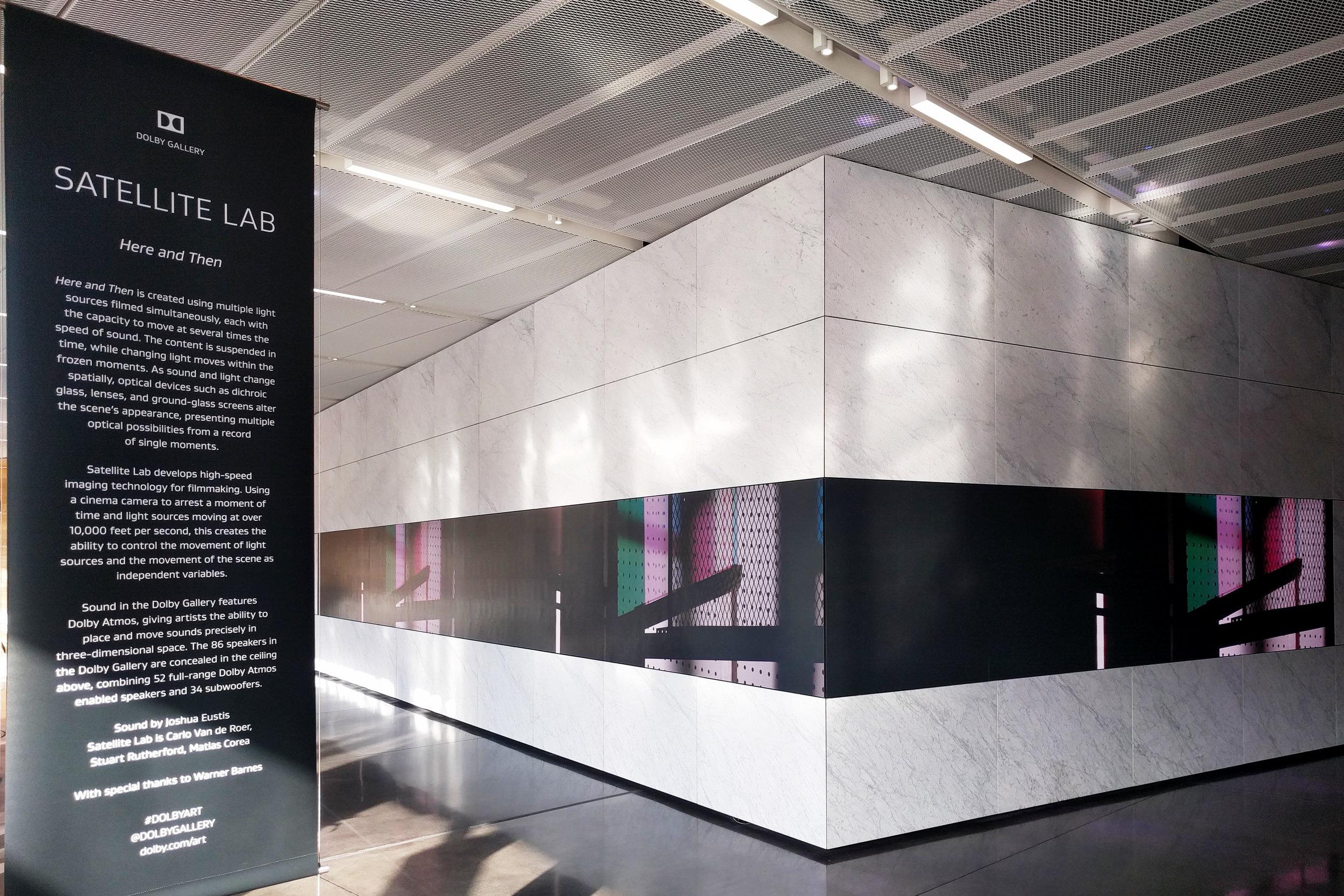 Dolby Gallery Installation 1