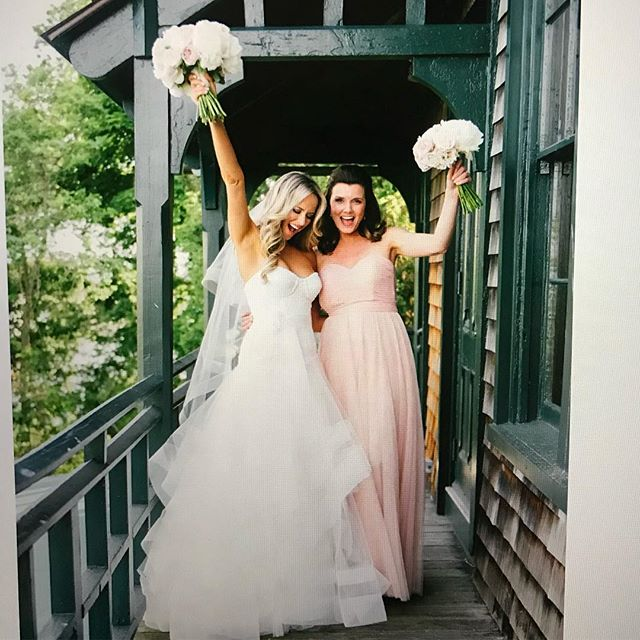 Flashback to my magical wedding day with my maid of honor, best friend and all around Wonder Woman. #InternationalWomensDay🌸@g.h.oma