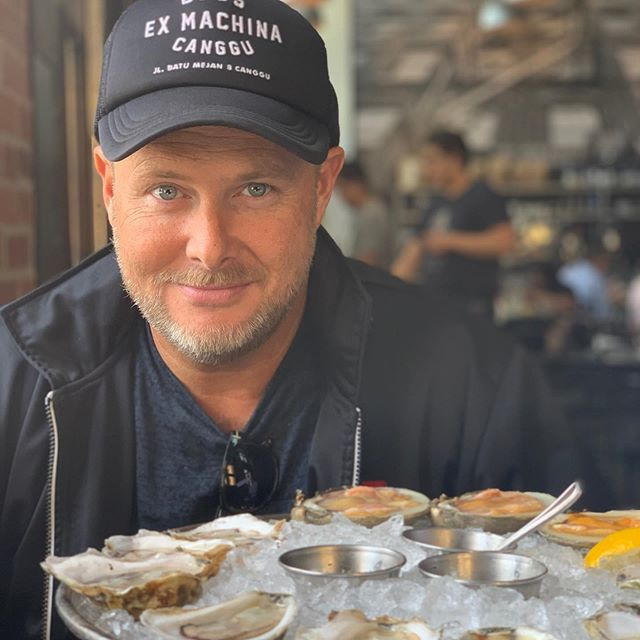 Patiently waiting to eat his oysters 📸 @westy3636 #myfavoriteview