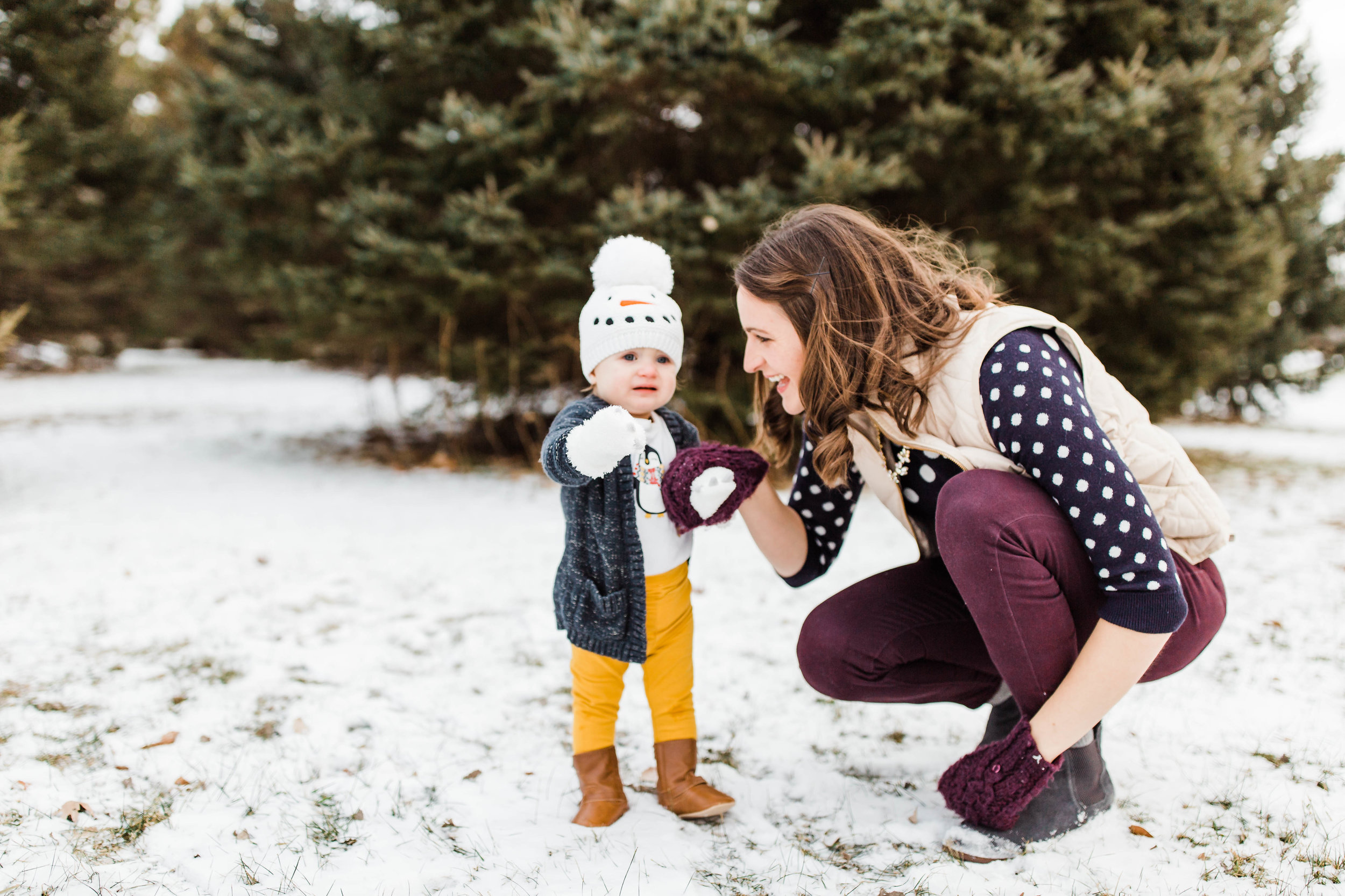 I am much more patient with this little toddler when I take care of myself--and exercise is a large part of taking care of myself! Photo by:  Talia Laird Photography