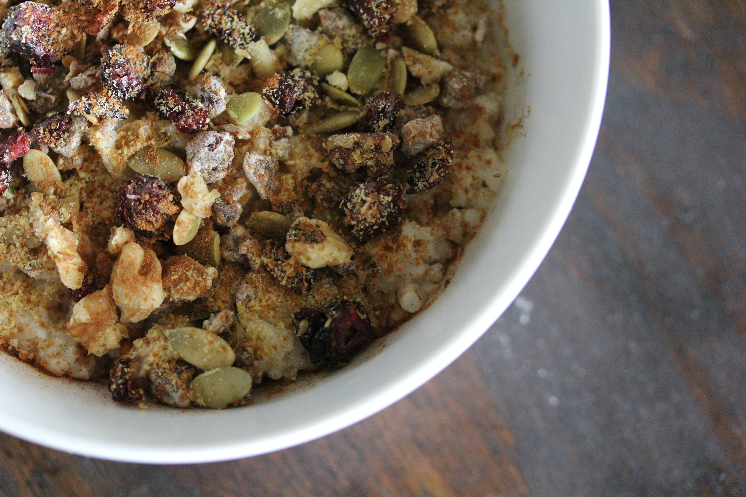 We love our Simple Overnight Oats--plus, they are full of anti-inflammatories!
