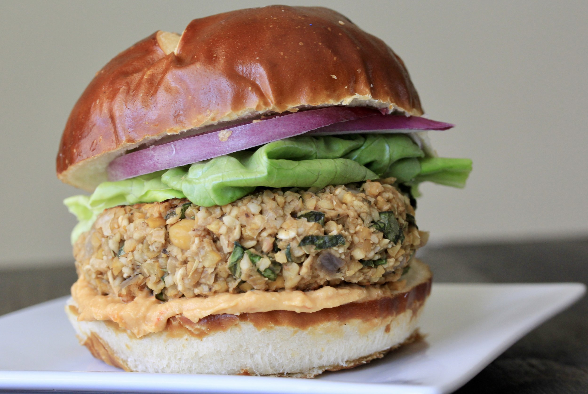 Italian Chickpea Burgers, Wholesome LLC
