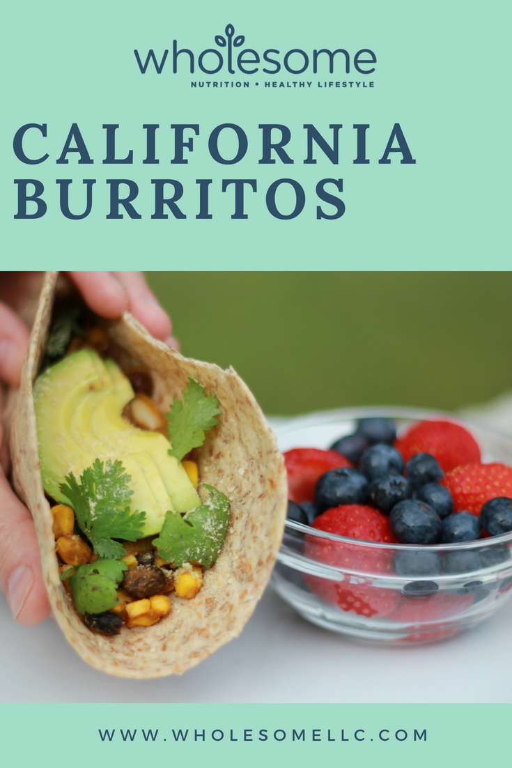 Easy California Burritos - Wholesome LLC