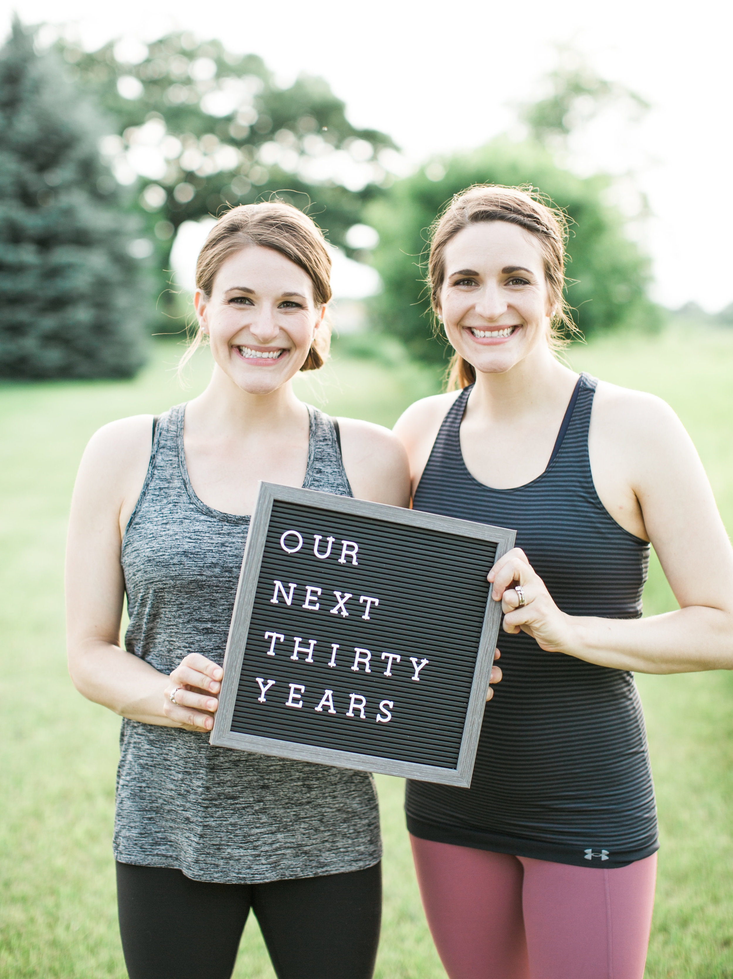See, we're excited to turn 30! Photo by  ERin Jean Photography