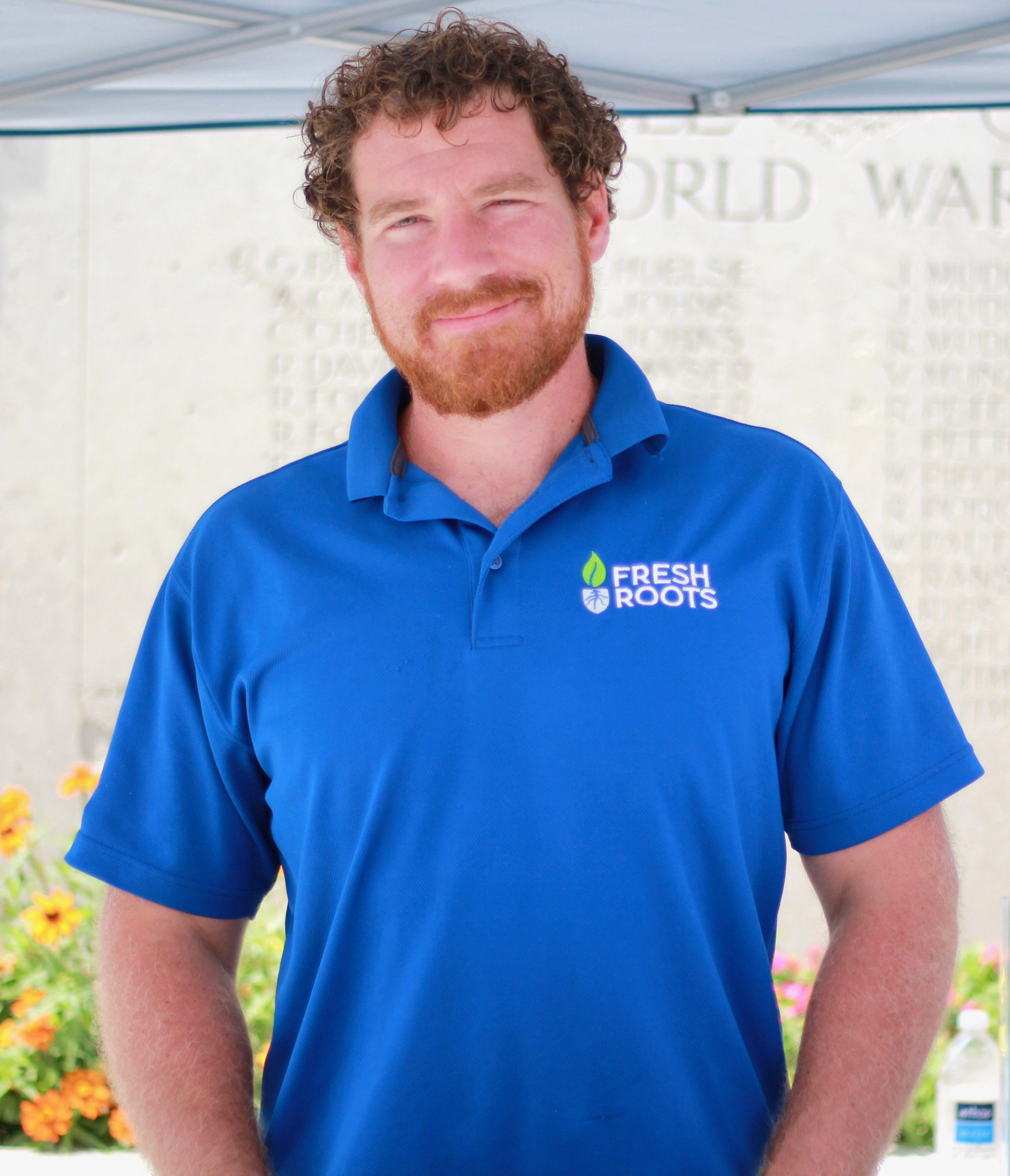 Meet Alec Lepoidevin - owner of fresh roots and a Master Gardener