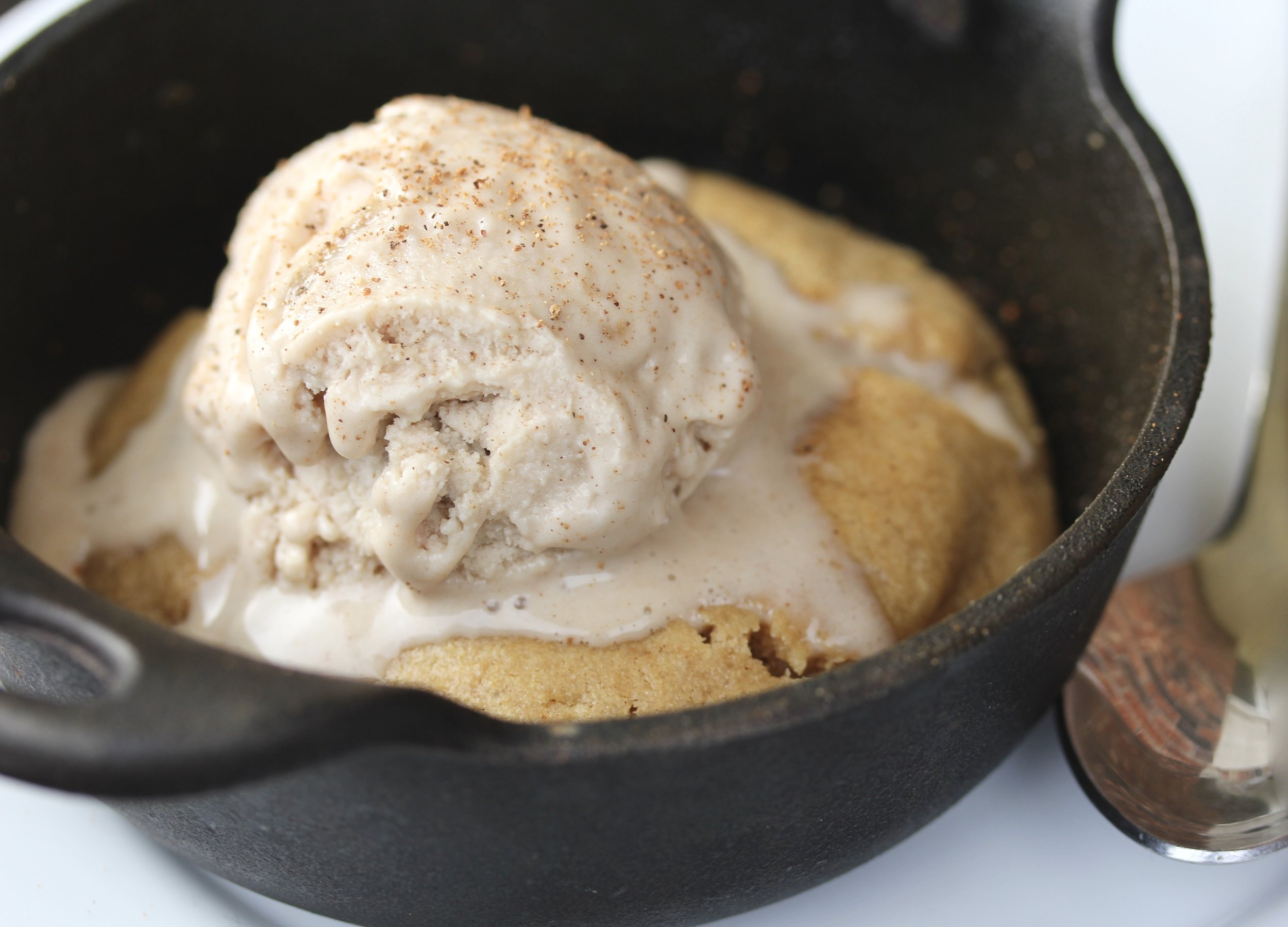 Vegan Peanut Butter Cookie Skillets | Wholesome