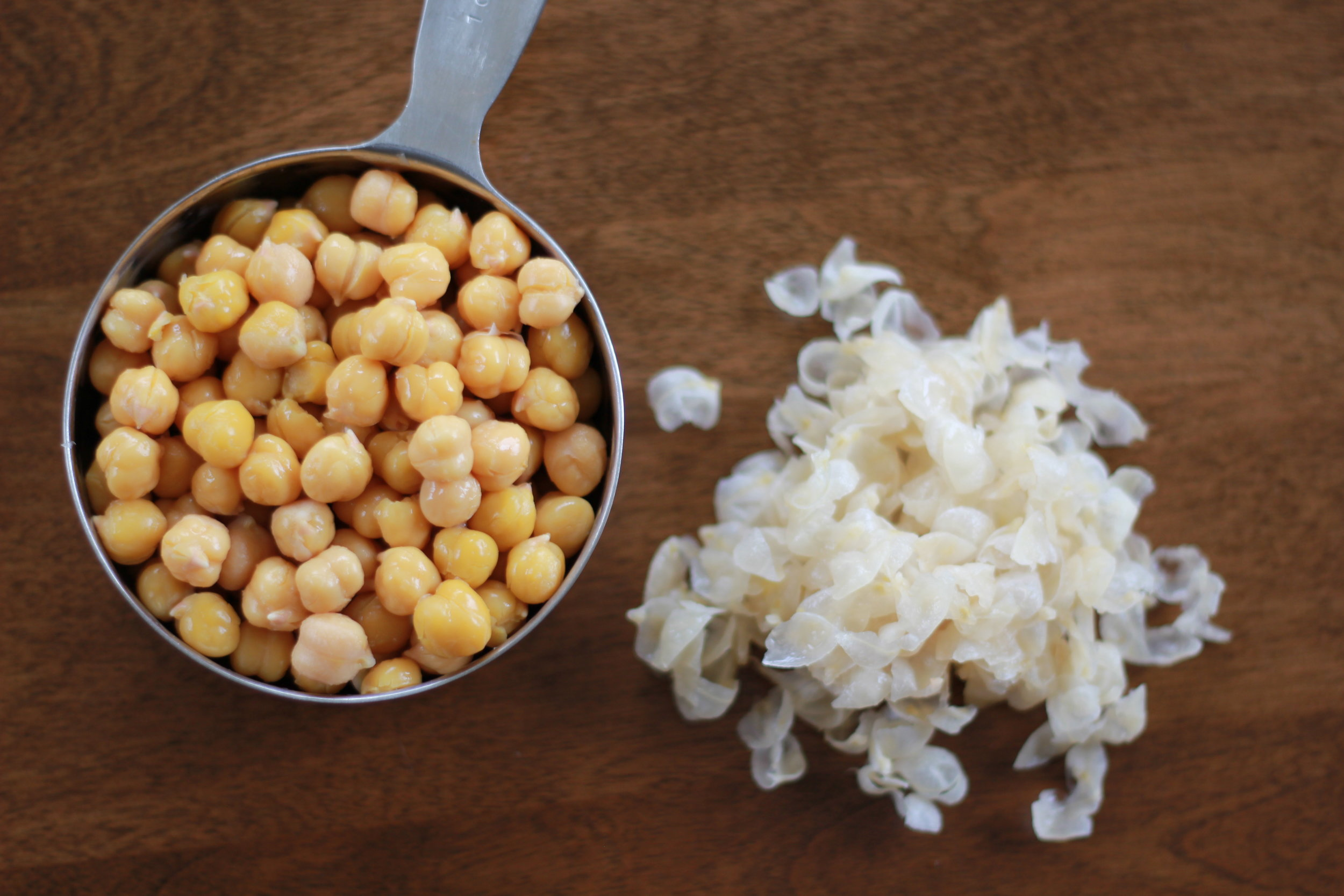 Remove Chickpea Peels for Smooth Texture | Wholesome LLC