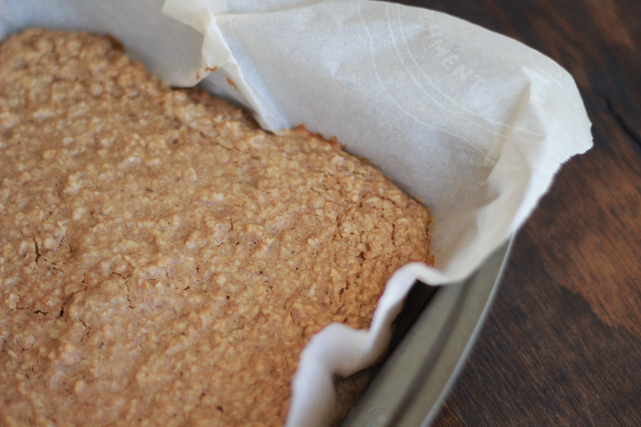 Quick Peanut Butter Baked Oatmeal | Wholesome LLC