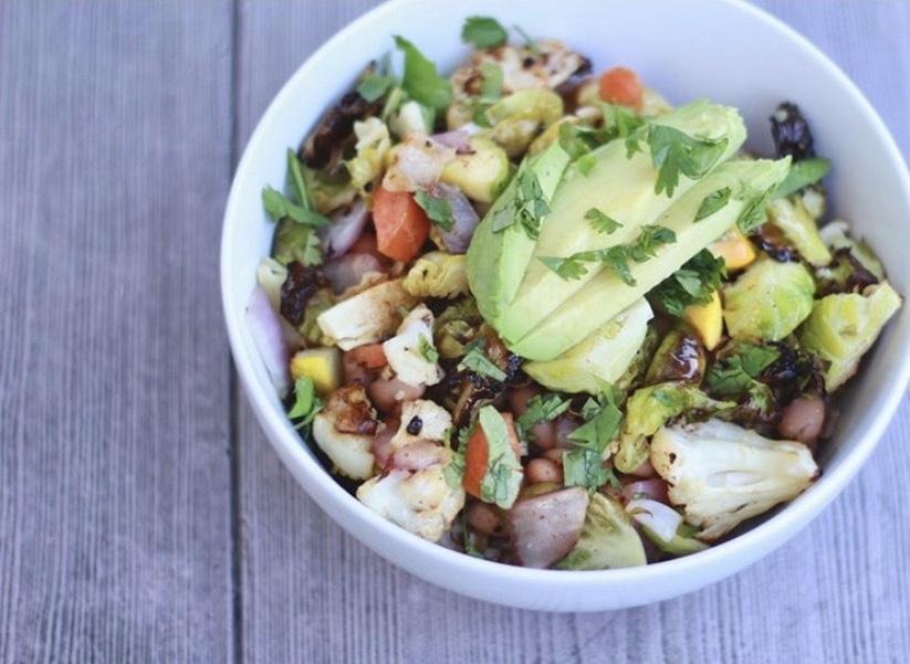 Grain, Legume, & Veggie Bowl | Wholesome LLC