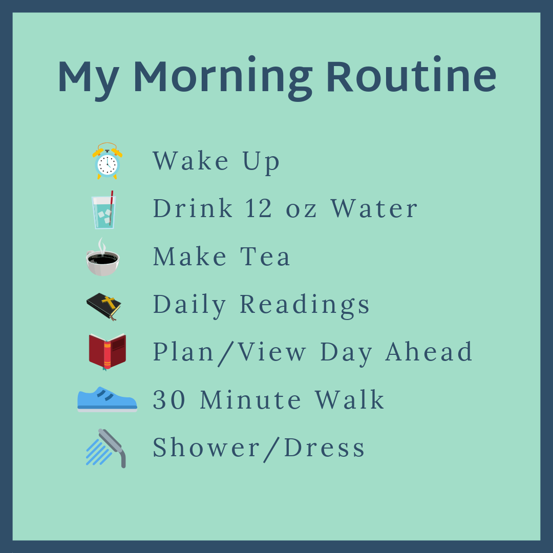 Alison's Morning Routine | Wholesome LLC
