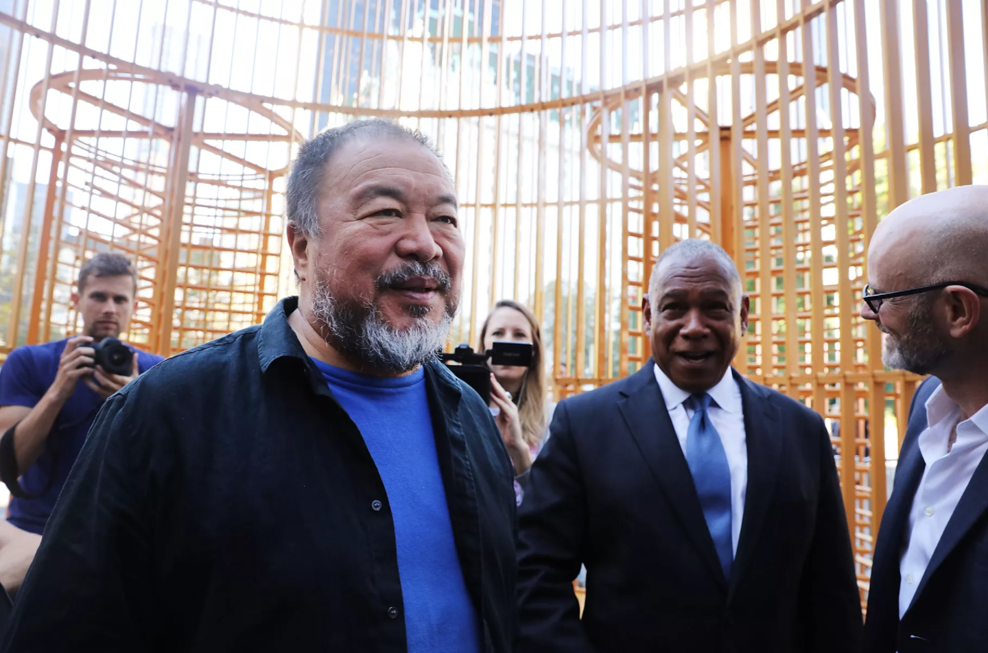 Vox.com  | Artist and activist Ai Weiwei on exploring the absurdity of national borders   I spoke to artist and filmmaker Ai Weiwei about Chinese politics, the global refugee crisis, and what it means to be a multidisciplinary artist.   Read more.