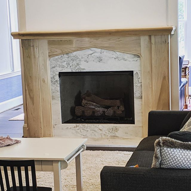 remember that mantel || it's almost complete #justneedspaint #mastercarpentersrule #interiordesign #interiorarchitecture #interiorarchitectureanddesign #mcdinteriors #mcdinteriordesign #mcdinteriorarch #modernclassicdesign