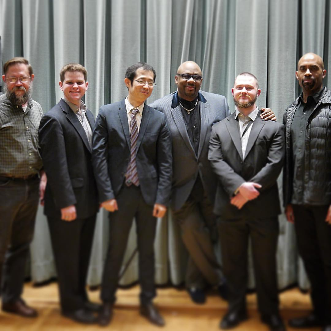 From Left to Right: Robert Hook, Billy Test, Yoshi Waki, Ralph Peterson, Nate Hook, and Gary Thomas