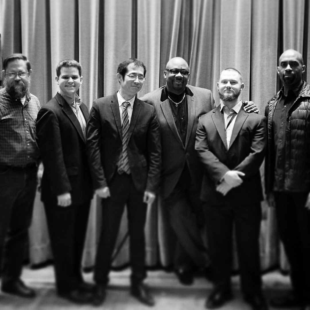 L to R: Robert Hook, Billy Test, Yoshi Waki, Ralph Peterson, Nate Hook, Gary Thomas