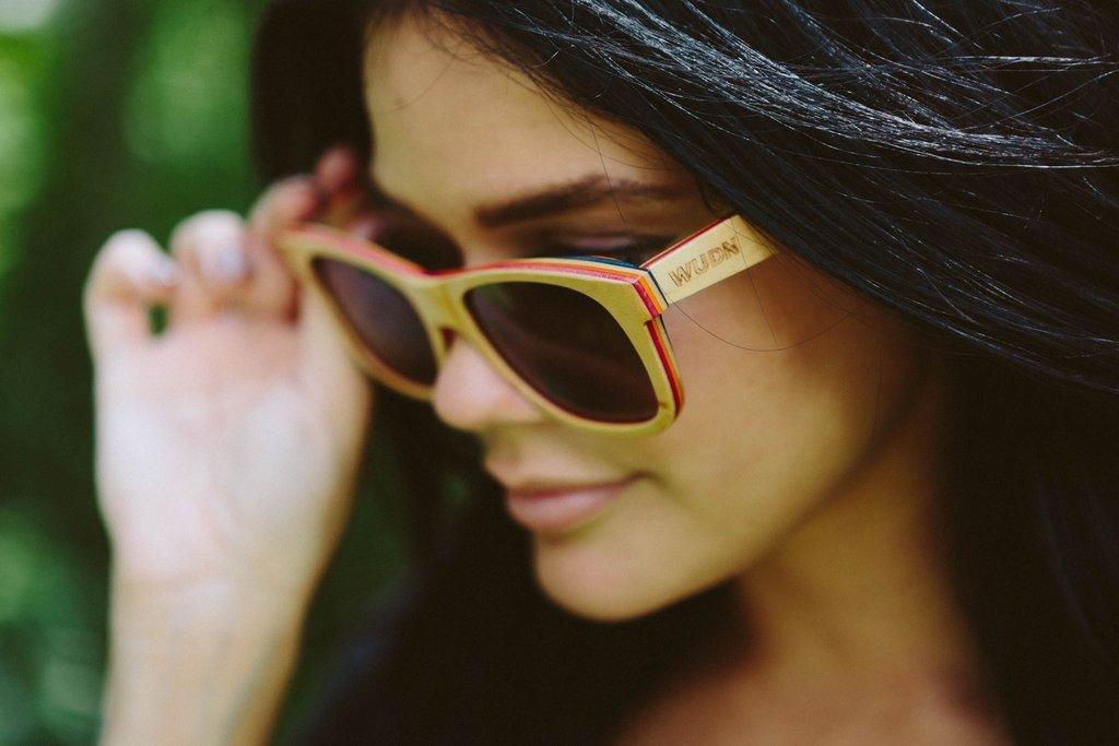 Recycled Skatedeck Kickflip Sunglasses