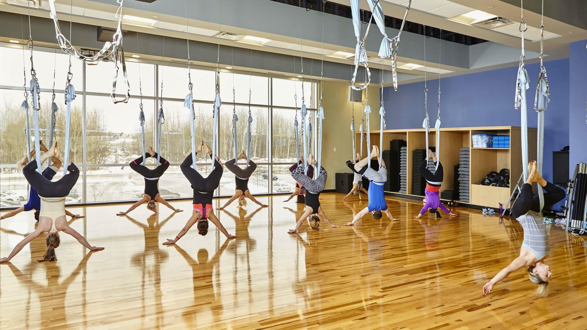 AntiGravity ®  Yoga at Movati Athletic in Kanata