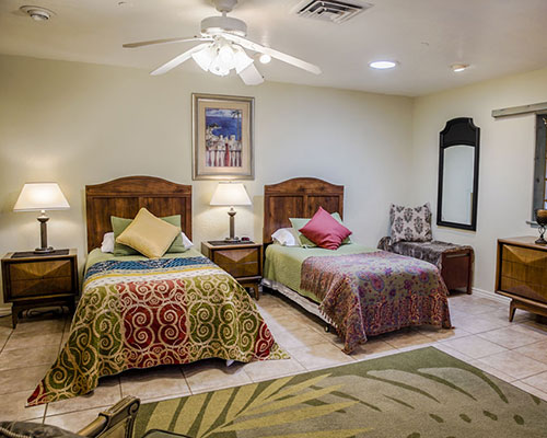 Sage Room - Three Twin Beds, Private Full BathroomTriple OccupancyEarly Bird: $1685 per personAfter June 30th: $1850 per person(SOLD)