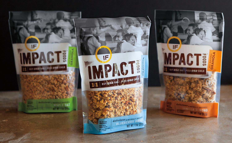 impact foods granola flavors