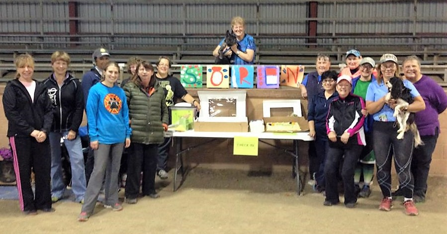 Soren's Retirement Party from agility with some of our friends.  The many wonderful friends Soren and I made over the years were one of the most treasured parts of our journey together.