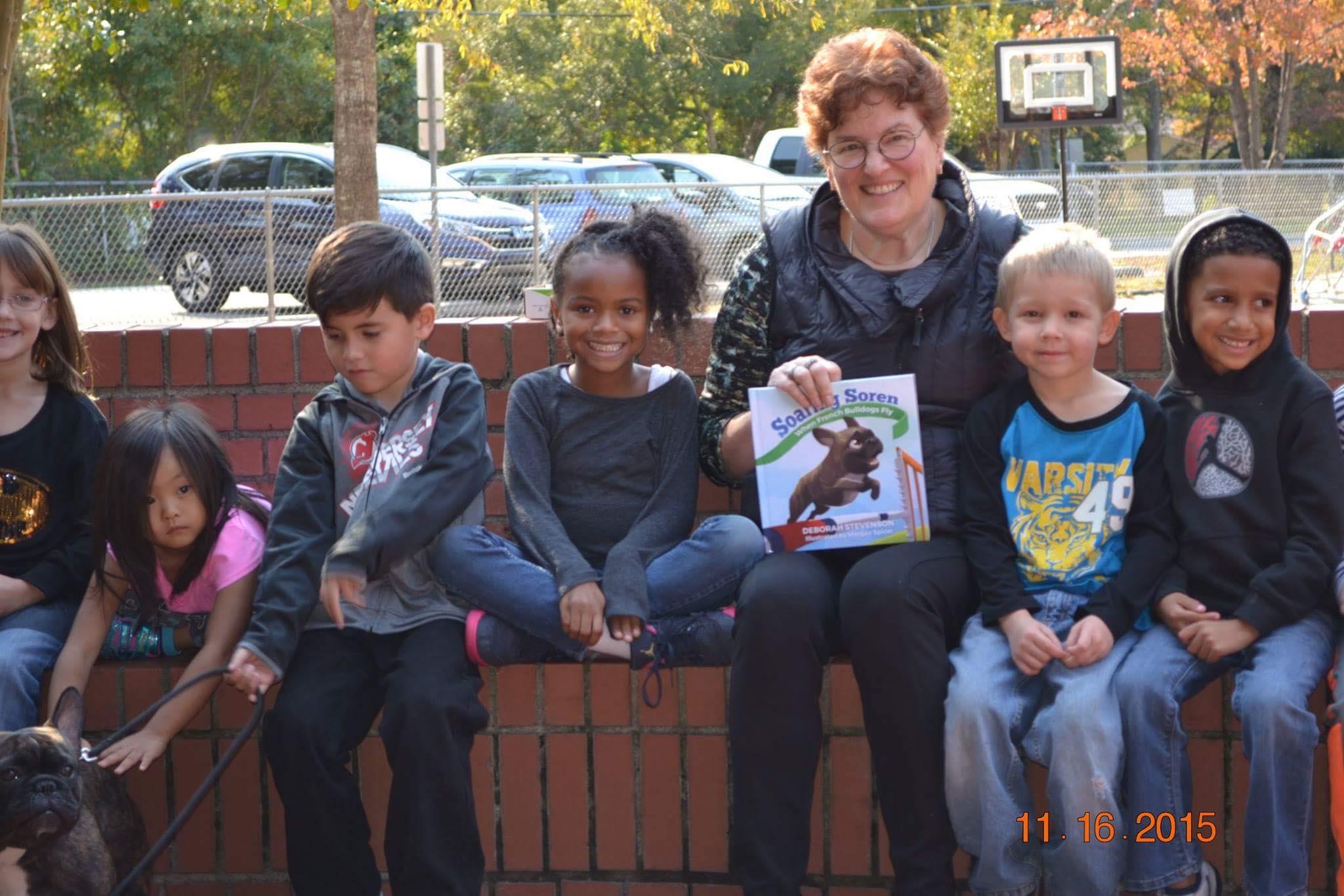 School visit in Craven County, NC