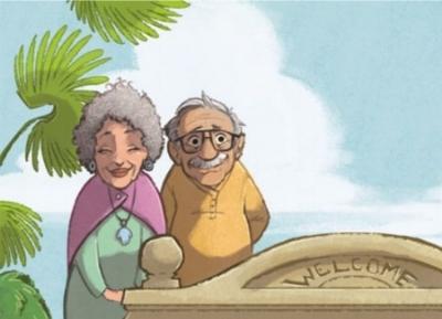 Grandma Gussie and Grandpa Morris