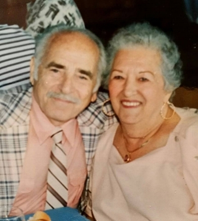 My beautiful grandparents ... the real Morris and Gussie