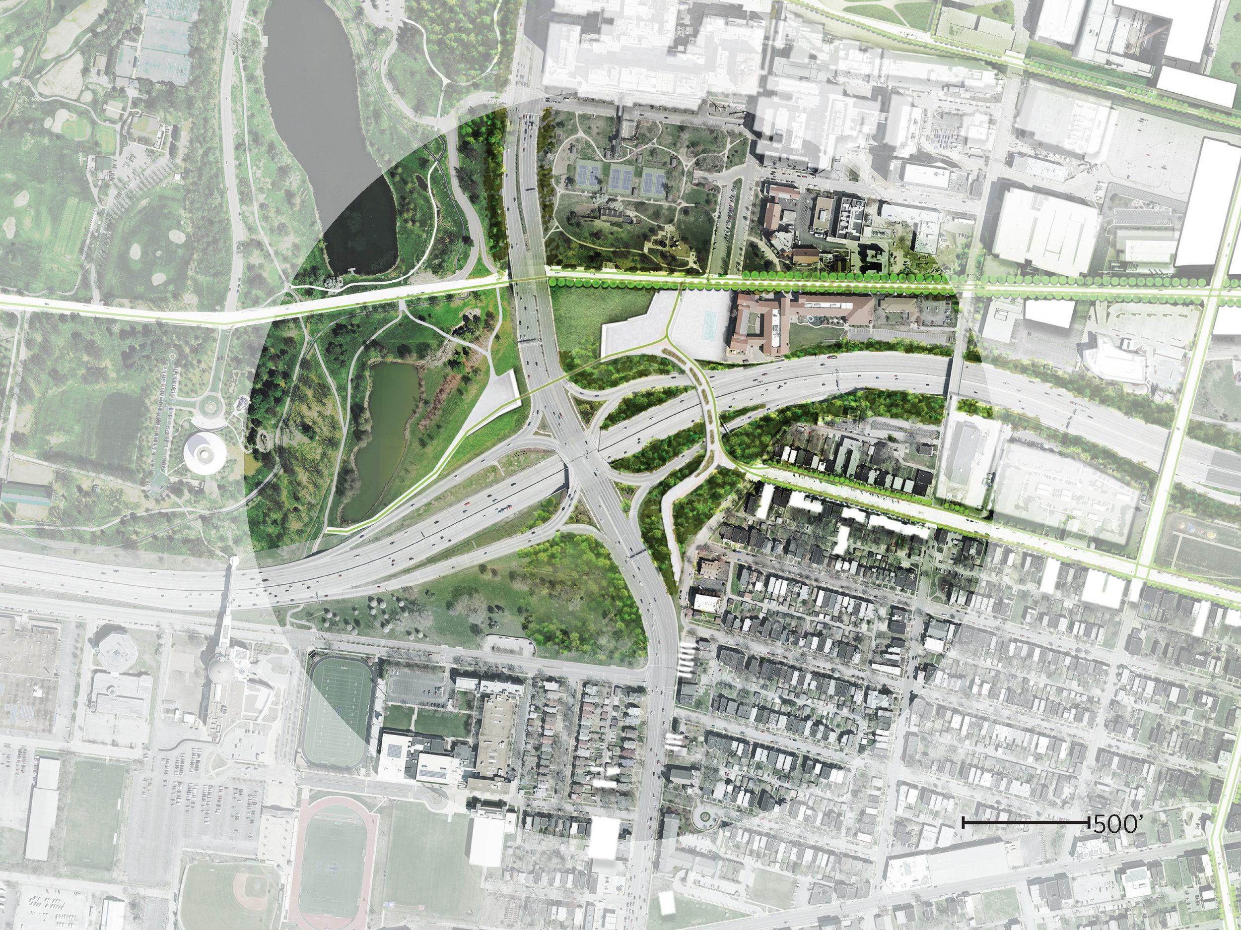 Plan at Forest Park Gateway
