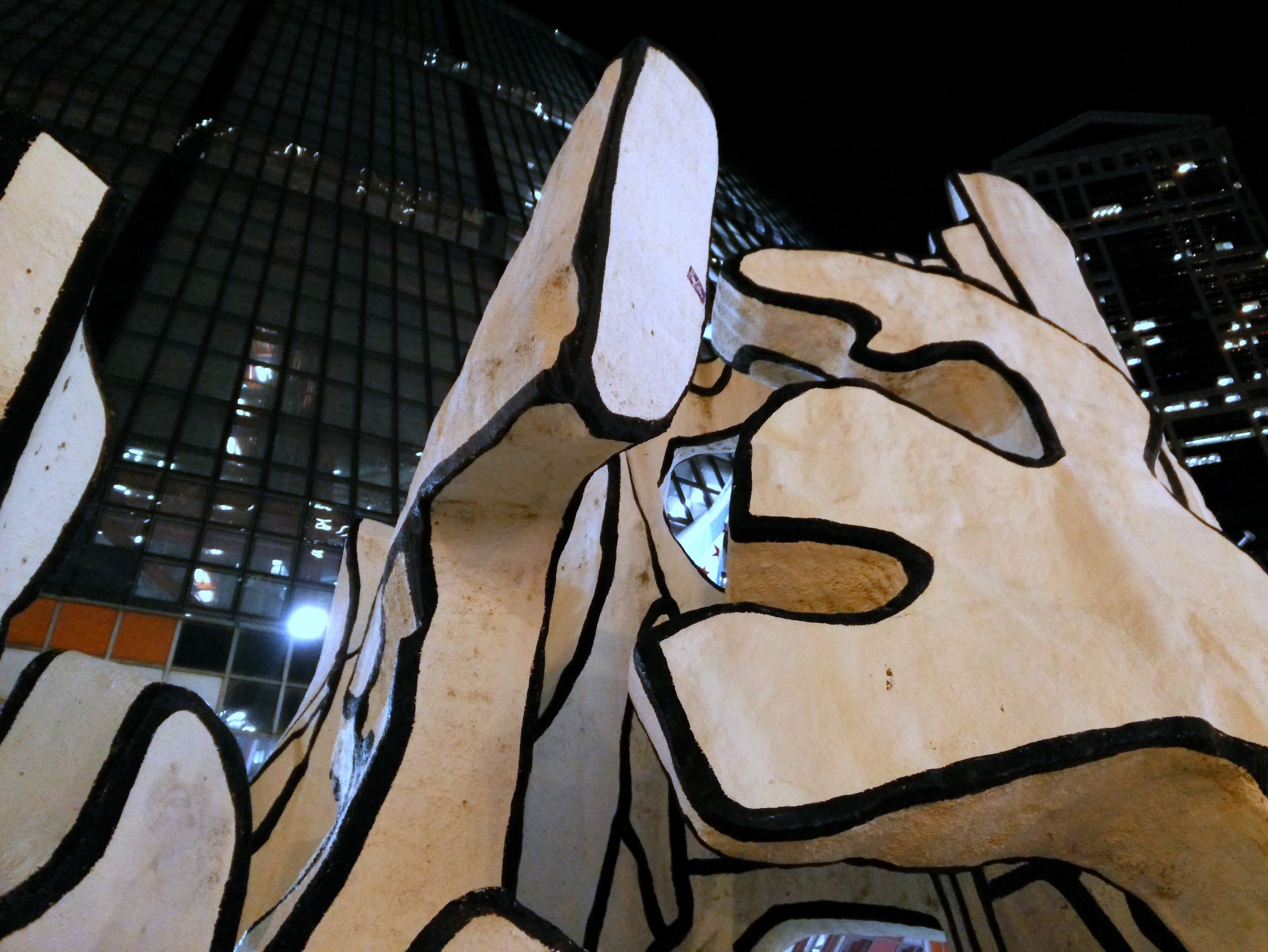 Dubuffet at Night