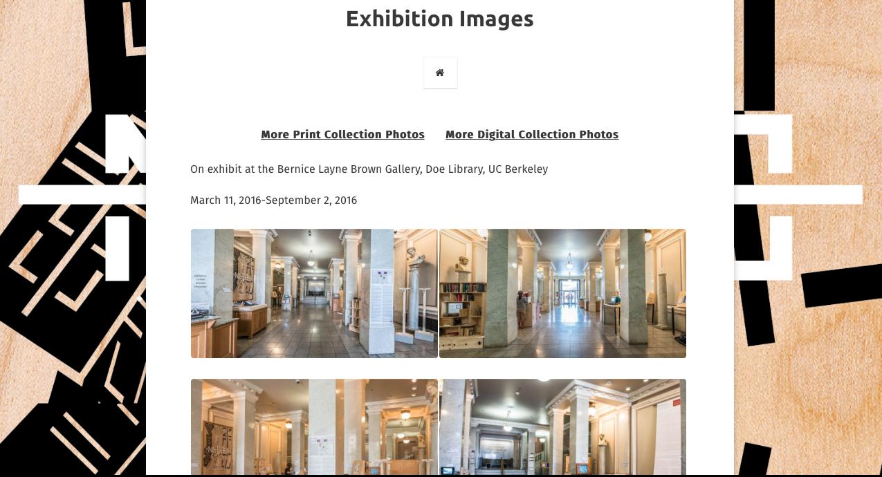 No Legacy Exhibition nolegacy.berkeley.edu