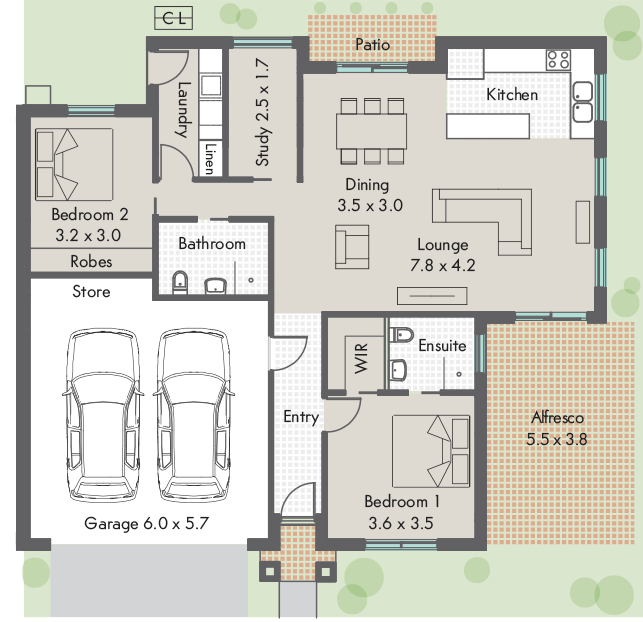Main Street Village Floor plan